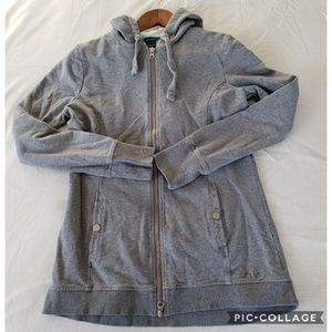 Oakley Medium grey zip up hoodie sweatshirt